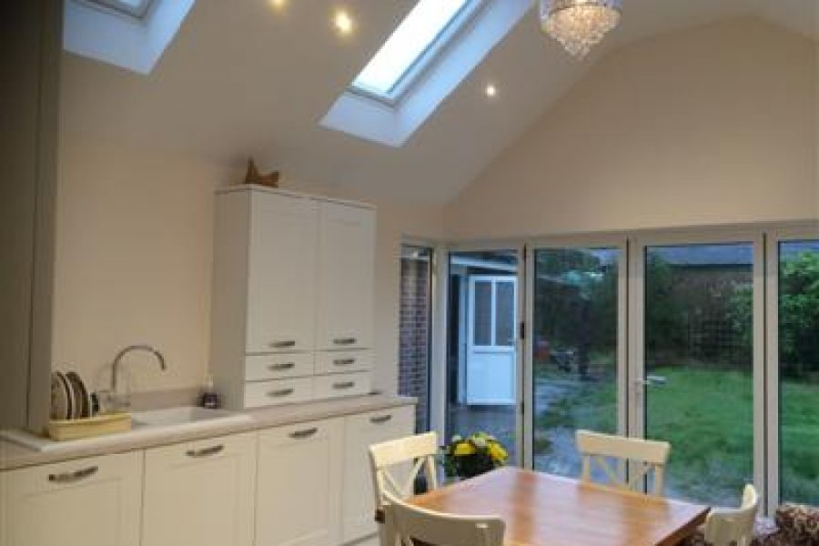 Single storey kitchen Extension