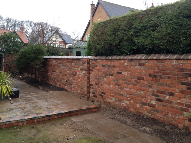 Leaning Wall Rebuild